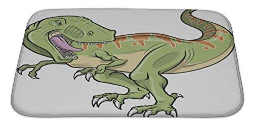 Gear New Tyrannosaurus Dinosaur Bath Mat, Microfiber, Foa...