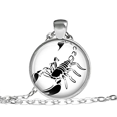 Scorpion Necklace Gifts For Men Scorpio Zodiac Jewelry Scorpio
