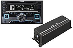 Ktp-445a - Alpine 4-channel 45w Rms X 4 At 4-ohms Amplifier