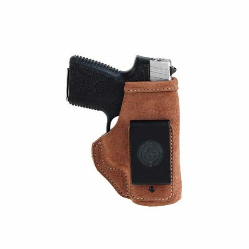 Galco Stow-N-Go Inside The Pant Holster for S&W M&P Compact 9/40 (Natural, Right-Hand) (Galco Inside The Pants Holster)