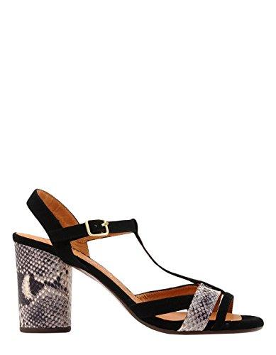 Chie Mihara Zwarte Hakken Sandalen Door Zwarte