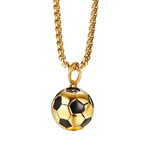 Phi Charm Keychain - Stainless Steel Football Chain Pendant Sport Inspirational Fans Necklace Jewelry Crafting Key Chain Bracelet Pendants Accessories Best