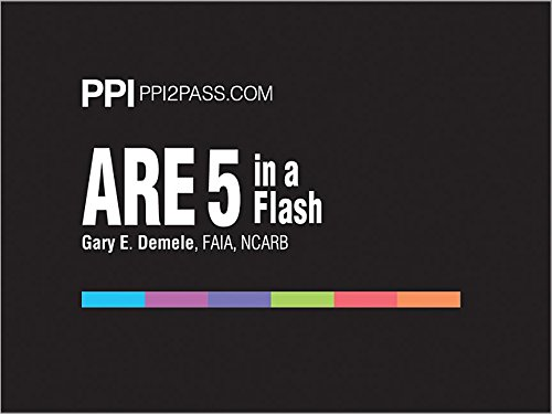 ARE 5 in a Flash: Rapid Review of Key Topics PDF
