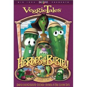 DVD-Veggie Tales: Heroes Of The Bible