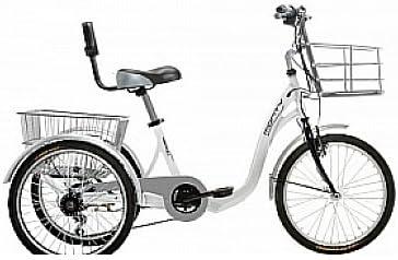 Monty 608 - Triciclo, Color Blanco, 13