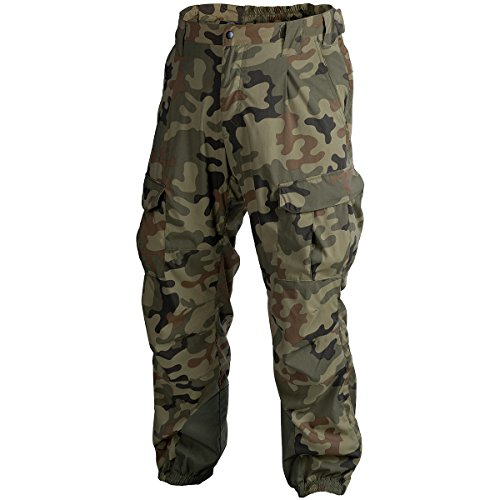 Helikon Men's Soft Shell Trousers Ver. II Polish Woodland size L Apcu Level