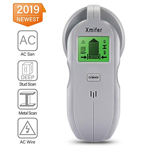 - Xmifer Stud Finder Sensor Wall Scanner - 4 in 1 Multi Function Electronic Stud Sensor Finders Wall Detector Center Finding with LCD Display for Wood AC Wire Metal Studs Detection