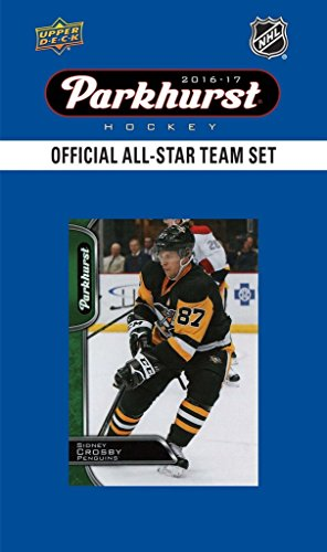 Alexander Ovechkin Hockey (2016 2017 Upper Deck Parkhurst Hockey ALL STAR Factory Sealed Set including Alexander Ovechkin, Jonathan Toews, Connor McDavid, Patrick Kane, Sidney Crosby Plus)