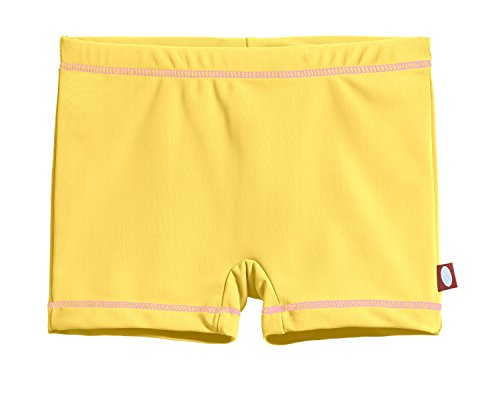 Kids Sun Protection Clothing (City Threads Little Girls' Swimming Suit Bottom Boy Short, Yellow,)