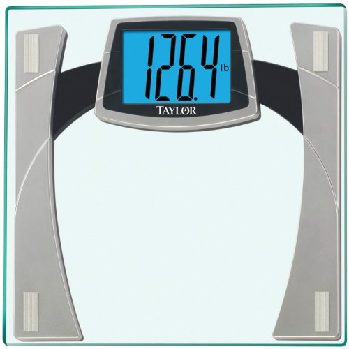 Taylor Tempered Glass Scale with Huge Lighted Readout