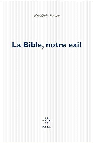 Livre La Bible, notre exil pdf epub