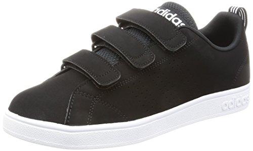 adidas VS ADVANTAGE CLEAN CMF - Zapatillas deportivas para Hombre, Negro - (NEGBAS/NEGBAS/FTWBLA) 48