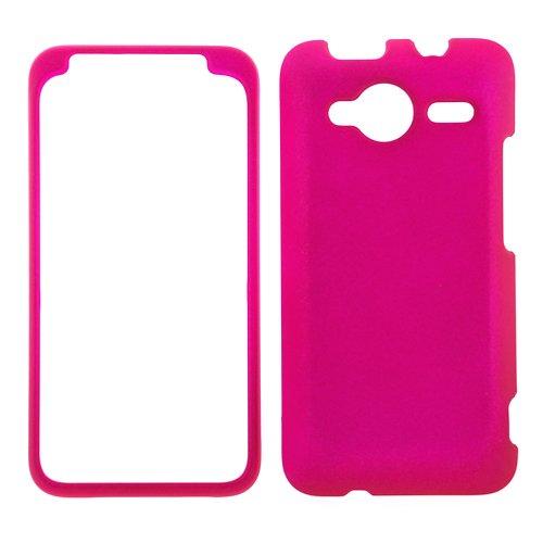 htc-evo-shift-4g-rubberized-shield-hard-case-hot-pink
