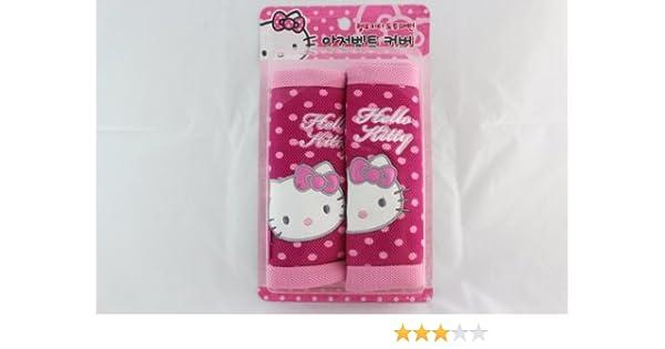 Con licencia Hello Kitty funda para cinturón de seguridad (2 ...