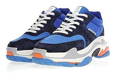 Balenciaga Triple S Orange 656686 WOGO 1001 Hombre Zapatos: Amazon.es: Zapatos y complementos