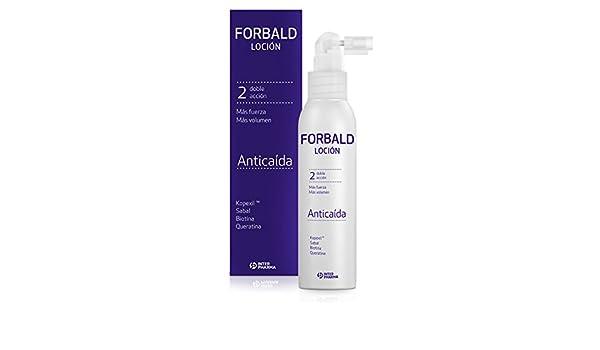 FORBALD - Loción anticaída cabello indicado para hombre y mujer. Doble acción: frena la caída del pelo y estimula su crecimiento - 125 ml: Amazon.es: ...