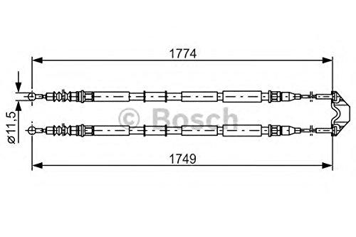 Bosch 1987477163 Bremsseil