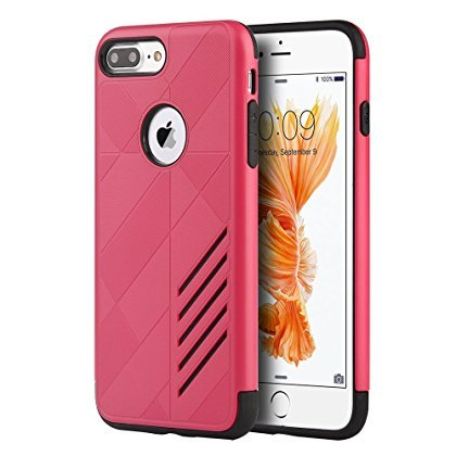 dream-wireless-movement-hybrid-rugged-case-for-for-iphone-7-plus-retail-packaing-hot-pink