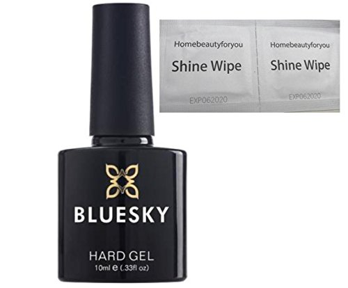 Bluesky Hard Gel Liquid Clear Builder Gel - To use With Nail Gel Polish UV...