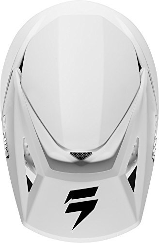 Shift Racing Whit3 Men's Off-Road Motorcycle Helmets - White / Large by Shift (Image #5)'