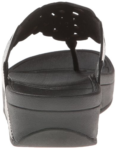Pictures of FitFlop Women's Flora Black 8 M (B) Black 8 M US 7