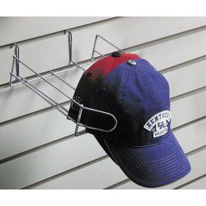 Chrome Wire Hat Rack - Slatwall Hat