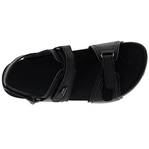 Joya Womens Amalfi II Synthetic Leather Sandals Black sR1TM2Wh0q