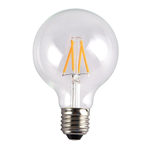 Onepre G95 Globe 4w Led Edison Bulb Antique Vintage Edison Style Led Decorative Light Bulbs Energy Saving E27 4w To Replace 40w Incandescent Bulb