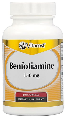 Vitacost Benfotiamine -- 150 mg - 240 Capsules - 3PC by Vitacost Brand