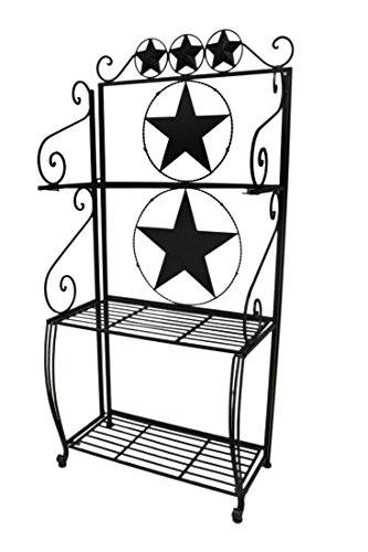 Ll Home Metal Star 3 Tier Baker's Rack by LL Home