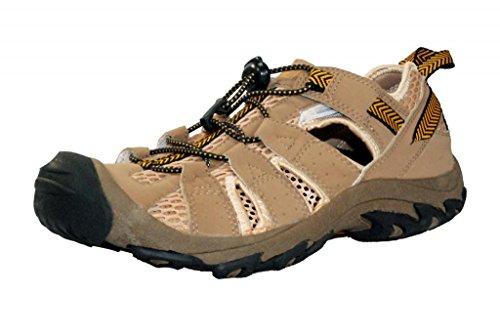 MAXIMO Big Boys' Hiking Trail Sneaker 5 Taupe