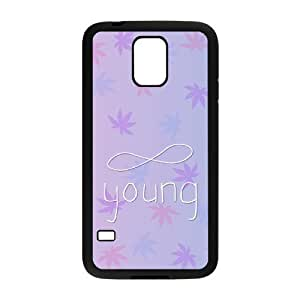 Custom Hard Plastic Back Case Cover for SamSung Galaxy S5 I9600 with Unique Design Infinite Young