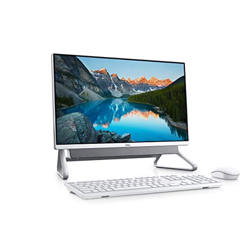 Dell Inspiron 5490 60.5 cm (23.8″) 1920 x 1080 pixels Touchscreen 10th gen Intel® Core i7 16 GB DDR4-SDRAM 1256 GB HDD+SSD Silver All-in-One PC Inspiron 5490, 60.5 cm (23.8″), Full HD,