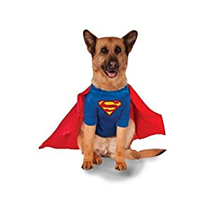 Rubie's Big Dogs Superman Dog Costume