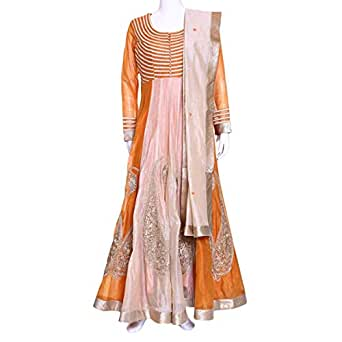 Kalaniketan Multi Color Casual Anarkali Set For Women