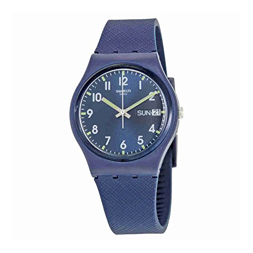 Swatch Watch - Swatch Unisex GN718 Originals Navy Blue Watch