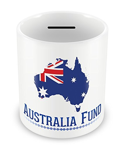 australia fund money box oz piggy bank gift idea holiday savings