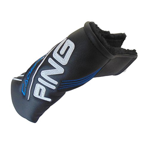 NEW Ping Cadence TR True Roll Black Blade Velcro Putter Cover