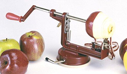 Apple Master Apple Parer - Sunnyfly 866R Apple Master Apple Potato Parer Slicer And Corer With Vacuum Base