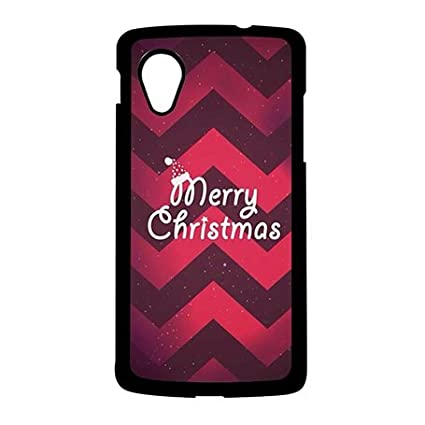 personalized google nexus 5 best case protection original merry christmas with chevron