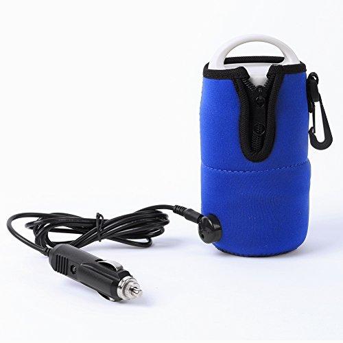 [해외]KINUT 12V Portablefor 자동차 여행 우유 물병 컵 따뜻하게 히터 베이비 키즈 블루/KINUT 12V Portablefor Car Travel Milk Water Bottle Cup Warmer Heater Baby Kids Blue
