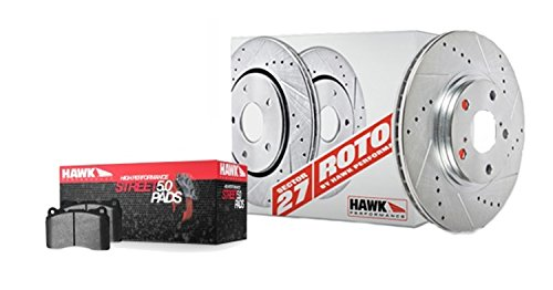 Hawk Performance HK5344.275B Brake Rotor with HPS 5.0 Pad Kit