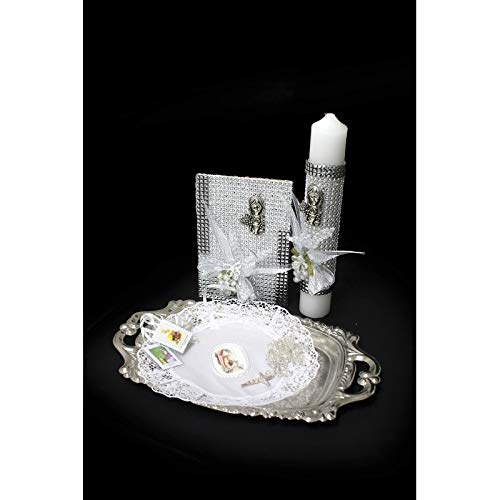 SF001 Catholic & Religious Gifts, First Communion Gift Set Girl English W/Tray