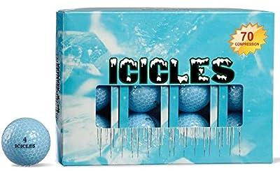 ICICLES Women's V Golf Ball, Blue
