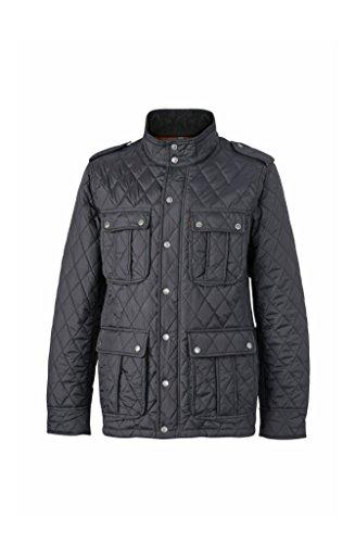 Men's Men's Men's Tempo per Libero Black e Quilted Quilted Quilted Diamond Business Piumino Moda Jacket Il Il alla wqEOz10