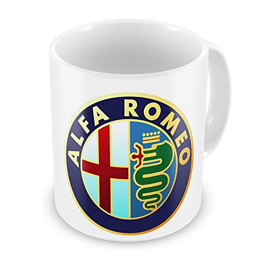 Alfa Romeo Car Manufacturer Coffee/Tea Mug Ceramics Milk Mug Beer Cup Gifts Muqs 11OZ Coffee Mug