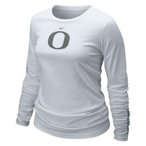 221e1834 Amazon.com : Nike Oregon Ducks Shirt - Women's Long Sleeve Logo T Shirt :  Sports & Outdoors