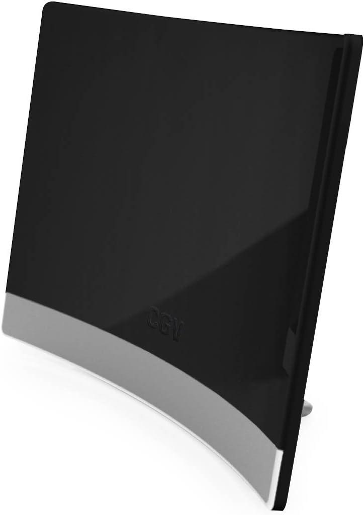 CGV an-Curve Negra CE Red Antena de Interior Negro