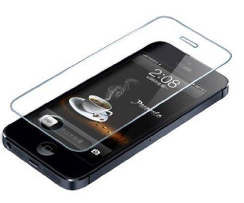 原理バラエティ三角No brand [iPhone5 / 5s / 5c 専用] 強化ガラス 液晶保護フィルム 第3代目 0.3mm