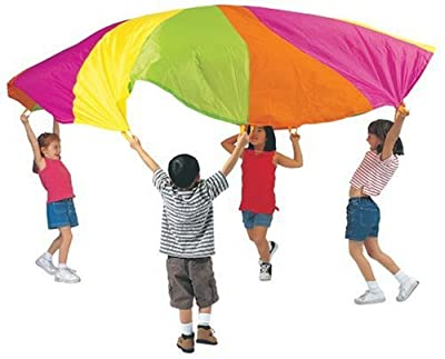 Pacific Play Tents Playchute 10' Parachute (Colors and Designs May Vary) from Pacific Play Tents